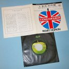 MARY HOPKIN Knock, Knock, Who's There / I'm Going to Fall in Love Again 45 Japan