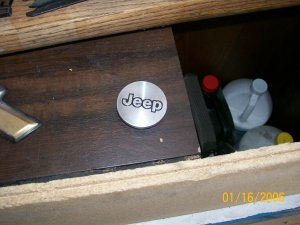 jeep center cap