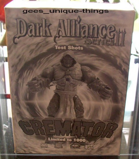 LIMITED EDITION CHAOS COMICS /ART ASYLUM PRESENTS DARK ALLIANCE lll THE CREMATOR