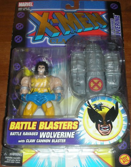 MARVEL COMICS X-MEN CLASSICS BATTLE BLASTERS WOLVERINE