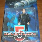 BABYLON 5 CAPTAIN JOHN SHERIDAN W/BABYLON 5 SPACE STATION ACTION FIGURE