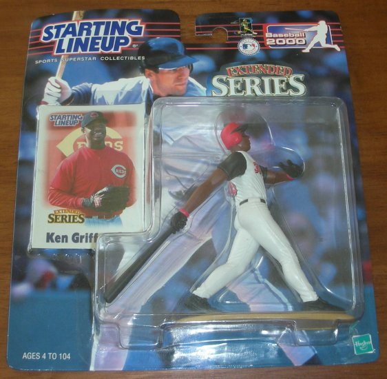 STARTING LINEUP KEN GRIFFEY JR. EXTENDED SERIES
