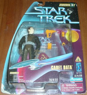 STAR TREK CADET DATA ACTION FIGURE STARSHIP ENTERPRISE
