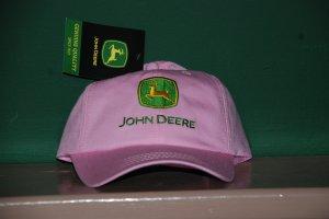 Pink John Deer Base Ball Cap NWT