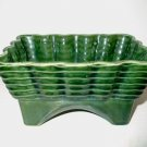Green USA Planter Basket Weave Pat.  I20