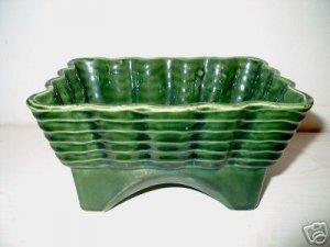 Green USA Planter Basket Weave Pat.  I20