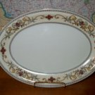 Royal Embassy Wheeling Oval Serving Platter   B05