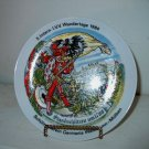 1984  Wandertage German Collectors Plate   I18