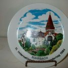 1984 Volks Wandertage German Collectors Plate   I18