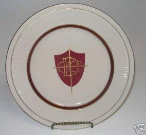 Shenango China Plate New Castile PA USA   A4
