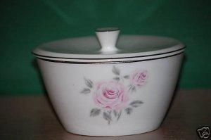 Rose China Perfection Sugar Bowl with Lid 3310  I71