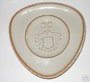 cherry Heering Dish  Made in Denmark   A5a