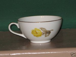 Cotillion by Japan Sango Yellow-Rose Cup I62