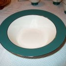 Laughlin Cavalier Eggshell Green Large Serving Bowl I05