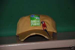 Animal Planet Parrot Base Ball Cap NWT Wheat Color