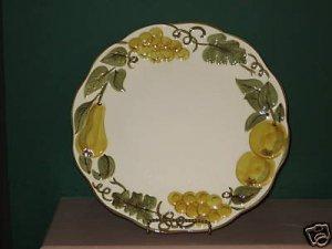 Stangl Sculptured Fruit Chop Plate I36