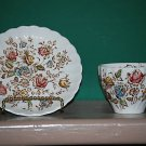 Staffordshire Bouquet Cup and Saucer I75