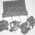 #1 Teacher Pewter Windchime1993 Carson  A4