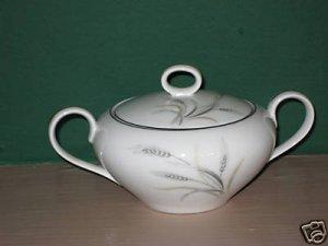 Kaysons Silver Rythm Sugar Bowl with Lid   I35