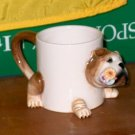 Adorable Pug Mug Coffee Cup NIB  I29