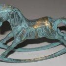 Brass Rocking Horse  A1