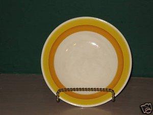 Majolica Orange Kasuga 8 Berry Bowls I39