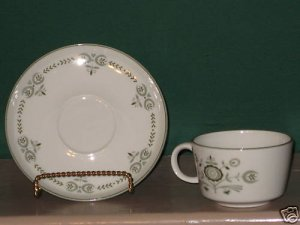 Franciscan Heritage Cup and Saucer  I66
