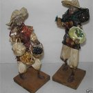 Vintage Paper Mache Male Figurines from Mexico M6