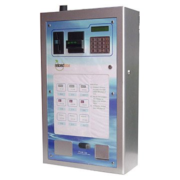 Teech Cleanser Vending Machine