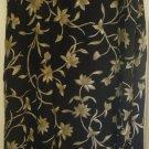 RENA ROWAN Long Black FLORAL PRINT Skirt size 20W