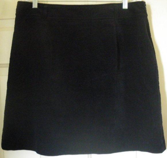 LT SPORT Navy Above-Knee CORDUROY Skirt size 16