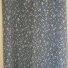 VINTAGE STUDIO Long Slate Gray FLORAL PRINT Skirt size L