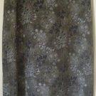 RIKKI J. Mid-Calf Army Green FLORAL PRINT Skirt size M