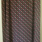 LIZ CLAIBORNE Long Black PRINT Skirt size 16