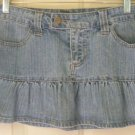 FOREVER 21 Blue Low-Waist Micromini STRETCH DENIM Skirt size L