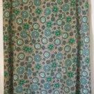 SAG HARBOR Tan & Green Mid-Calf PRINT Skirt size16