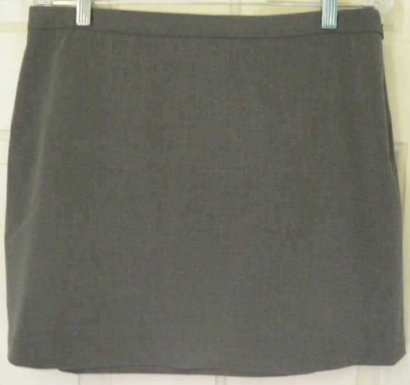 EXPRESS Gray Mid-Thigh STRETCH Skirt size 9/10