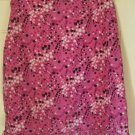 XHILARATION Pink Knee-Length DOTTED Skirt size L