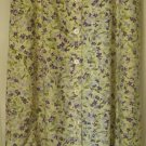 CAPACITY Long Yellow BUTTON-FRONT Floral Print Skirt size S