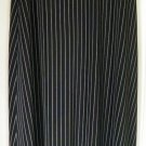 TAPEMEASURE Long Black STRETCH PINSTRIPED Skirt size M