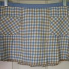 HOLLISTER CO. Low-Waist PLEATED PLAID Mini Skirt size 7