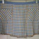 HOLLISTER CO. Low-Waist PLEATED PLAID Mini Skirt size 7