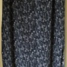 MAGGIE McNAUGHTON Long Blue PRINT Skirt size 3X