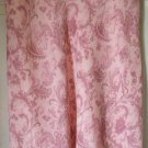 GRACE ELEMENTS Pink Mid-Calf SILK PAISLEY Skirt size 4
