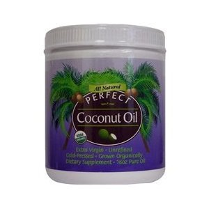 PERFECT COCONUT OIL 16 oz
