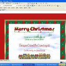 Snowy Village Holiday Template