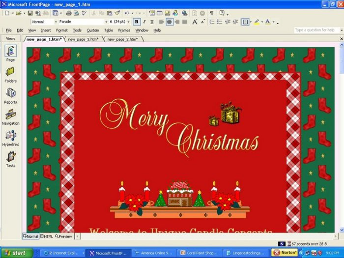 Christmas Toys Holiday Template