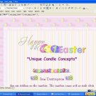 Egg Pastels Easter Template