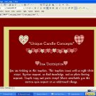 Quilted Hearts Valentines Day Template