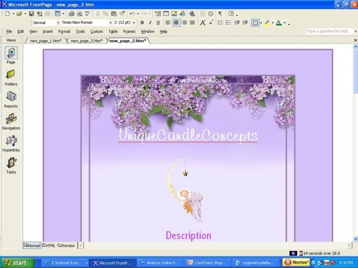 Love for Lilac Floral Template
